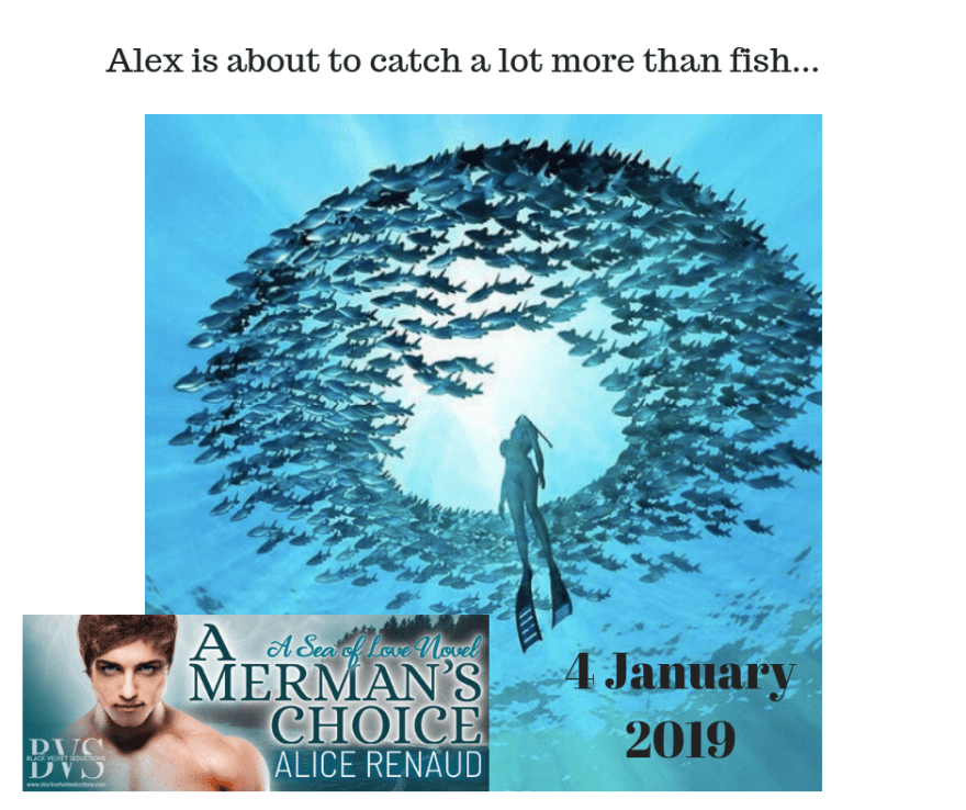 A Merman's Choice Guest Post with Alice Renaud
