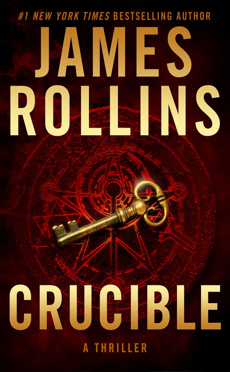 Crucible by James Rollins reunites the Sigma Force team in this thrilling AI story! #SaturdaySpotlight with #author @jamesrollins ‏ #SaturdayMorning #interview