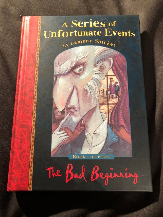The Bad Beginning (A Series of Unfortunate Events Book 1)  by Lemony Snicket and Brett Helquist | Alternative-Read.com.