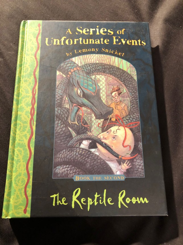The Reptile Room (A Series of Unfortunate Events Bk 2) by Lemony Snicket   Alternative-Read.com