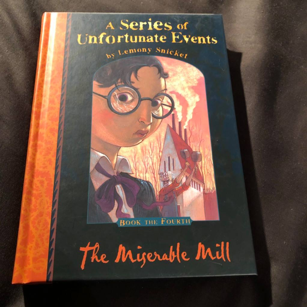 The Miserable Mill Front Cover | | Alternative-Read.com