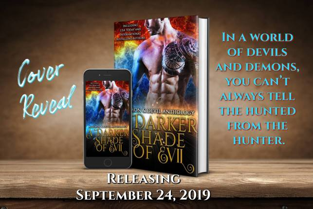 Cover Reveal A Darker Shade of Evil Anthology Cover Reveal