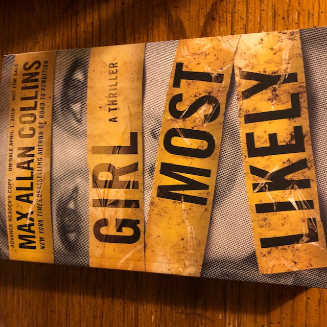 Girl Most Likely - A Thriller (Krista Larson) – by Max Allan Collins
