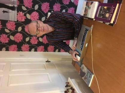 Author Michael Rowland's Desk