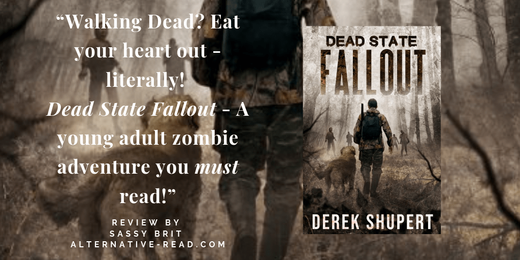 Zombies are killing it! Dead State : Fallout by @dshupert #review #YA