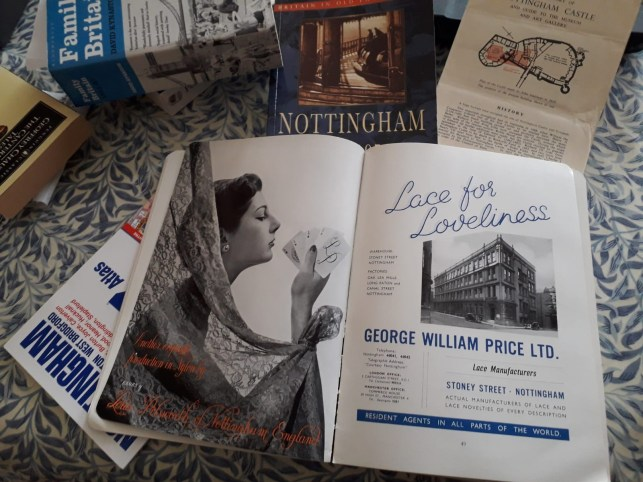 What's on your desk, Wednesday? Kate Zarrelli - A Nottingham civic guide?