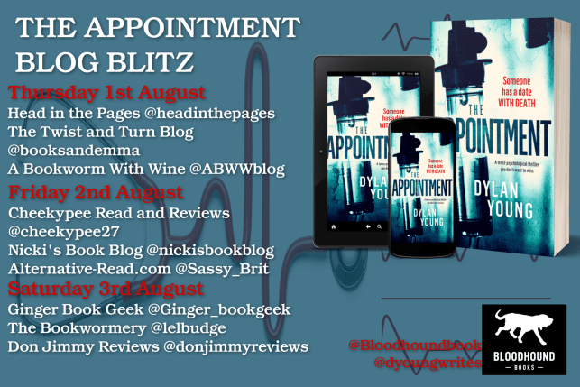 The Appointment by Dylan Young Bloodhound Books - Book Blitz