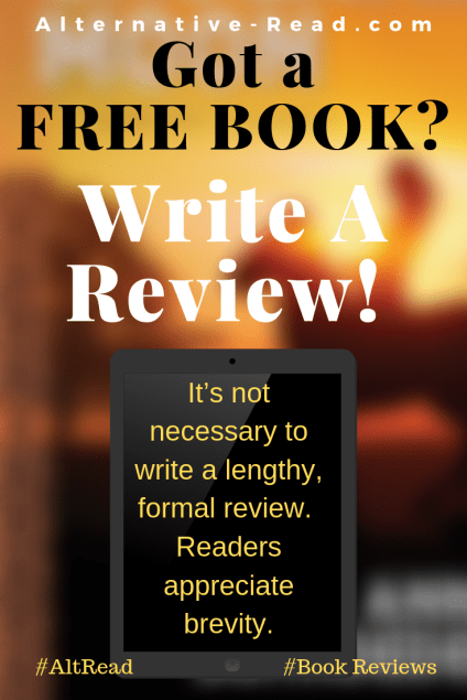 Got a FREE BOOK_ Write a Review!
