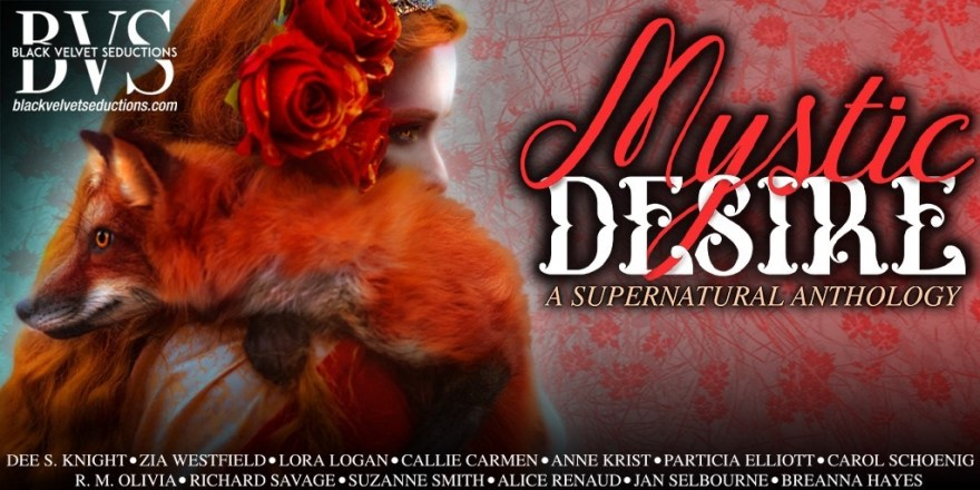 Mystic Desire #blackvelvetseductions #coverreveal #bvsbooks #altread #supernatural #anthology #halloween
