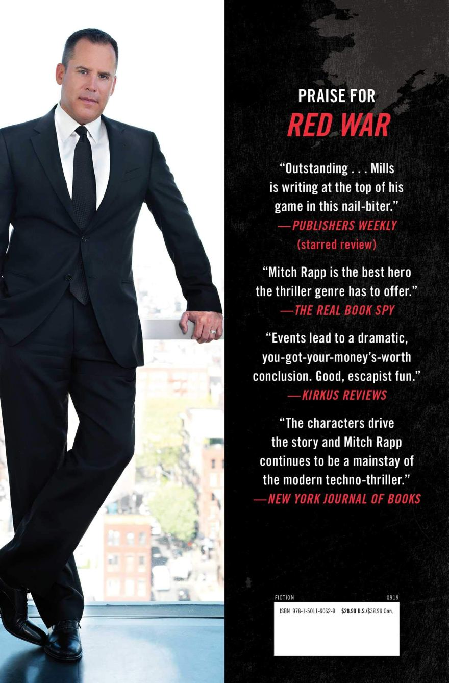 Praise for Red War! Vince Flynn's Lethal Agent by Kyle Mills harkens back to earlier Mitch Rapp books. #SaturdaySpotlight #Interview with New York Times bestselling #author #KyleMills @KyleMillsAuthor #SaturdayShare #thriller