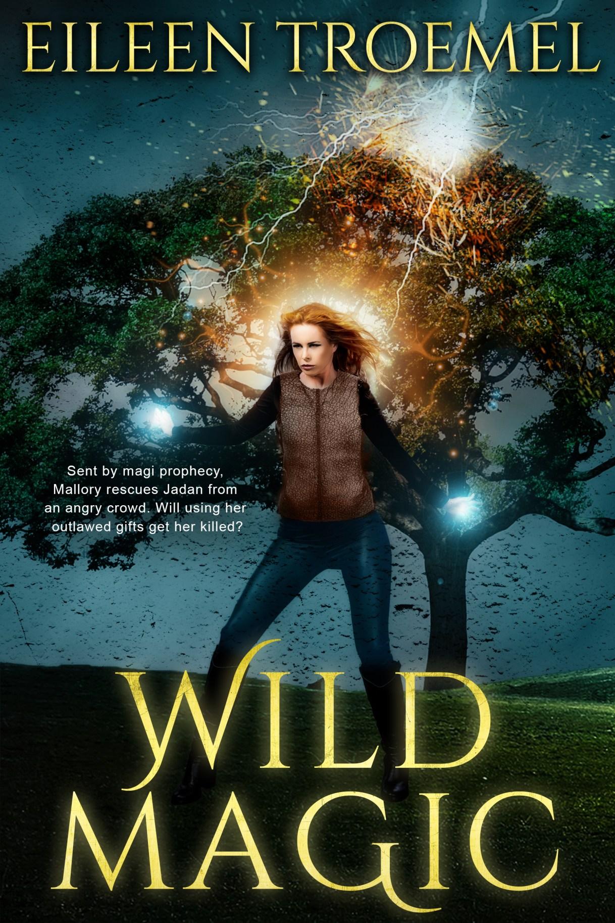 Wild Magic_ by Eileen Troemel #EileenTroemel #fantasy #adventure #magic #WOYDW #WhatsOnYourDeskWednesday #Wednesday #author #Spotlight