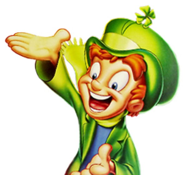 Oggie The Leprechaun
