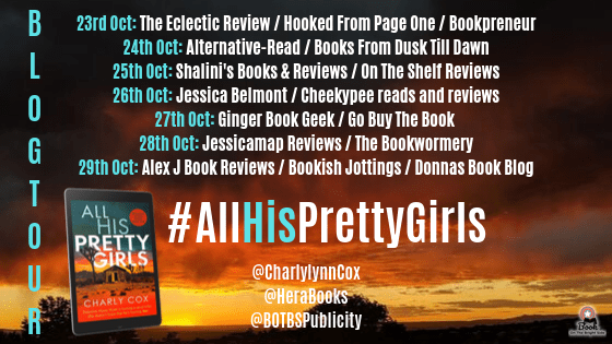 All His Pretty Girls: An absolutely gripping detective novel with a jaw-dropping killer twist by Charly Cox   #jawdroppingkillertwist #serialkiller #detective #crime #thriller