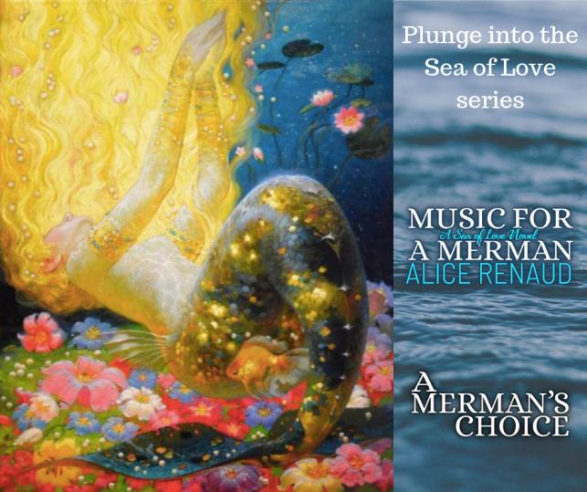 Music for A Merman by #AliceRenaud (A Sea of Love Novel) #mermen #mermaid