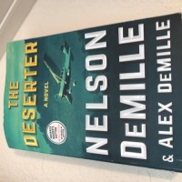 The Deserter by prolific author Nelson DeMille is co-written with his son, Alex DeMille.   #SaturdaySpotlight #Interview with bestselling #author @nelsondemille @alexdemille #SaturdayShare