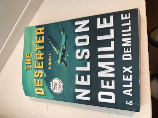 The Deserter by Nelson DeMille  and, Alex DeMille  Cover and Sneak Peak! #Political #Thrillers & #ghost #Suspense