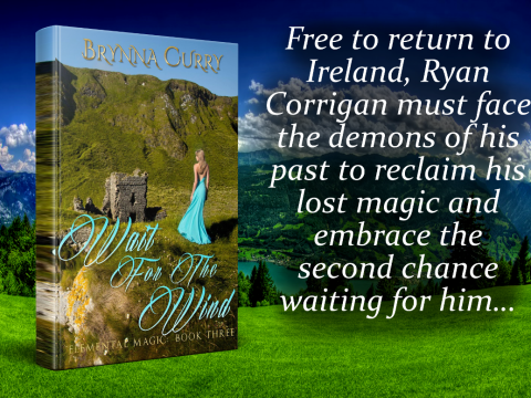 Wait for the Wind an Elemental Magic Book Three - by Brynna Curry