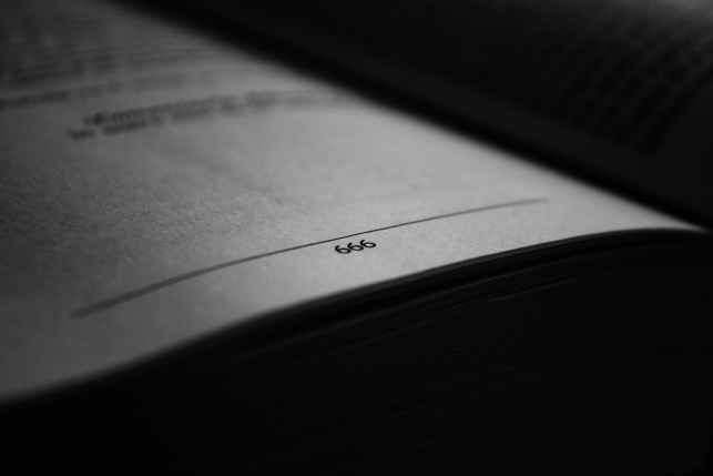 black and white blur book business