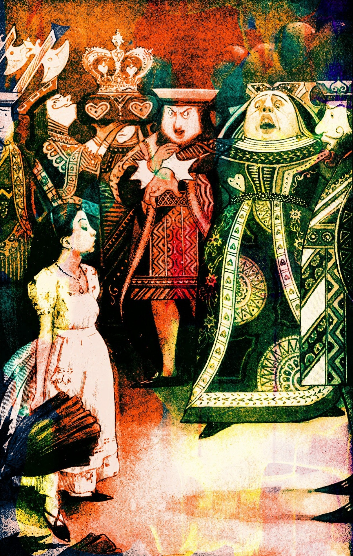 Alice in Wonderland Vintage Image - Christina Dodd Interview