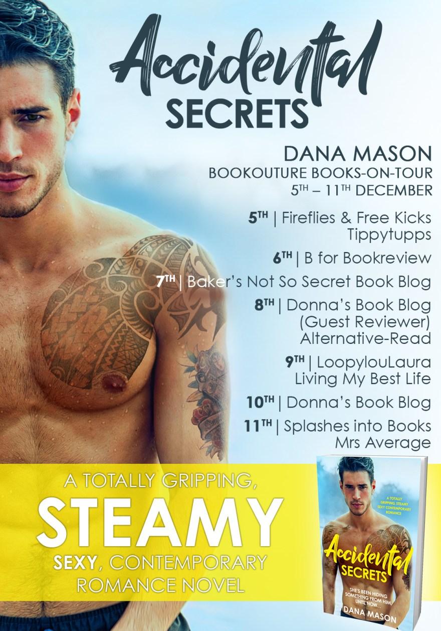 Steamy, Sexy, Contemporary Romance Novel - Accidental Secrets by #DanaMason #novel #book #contemporaryromance