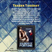 Soldiers of Fortune: Vol 4 #Tour #RomanticSuspense #TalkTuesday #TeaserTuesday #BookBeginnings