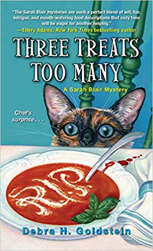 Three Treats Too Many (A Sarah Blair Mystery) Cover - By Debra H. Goldstein