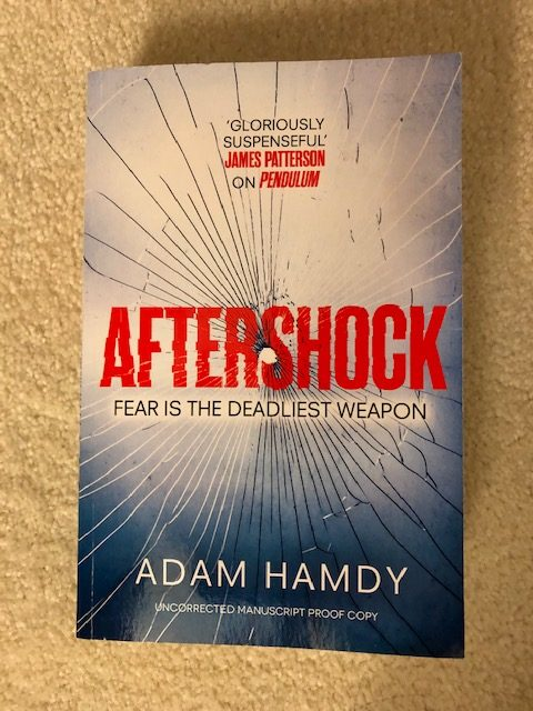 Aftershock by Adam Hamdy Cover