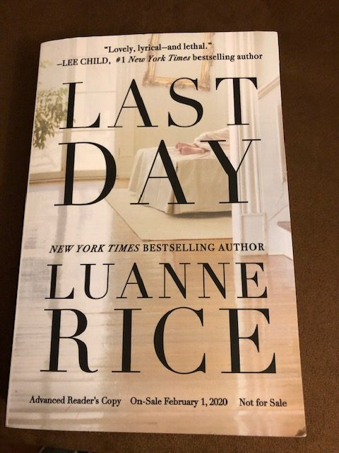 Last Day by Luanne Rice - Book Cover