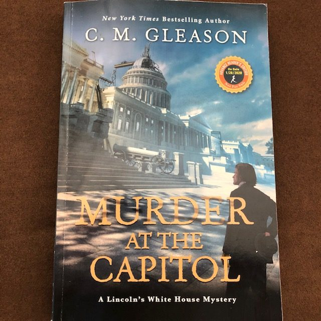 Murder at the Captiol by C.M.Gleason - Sassy Sunday Spotlight #historical #mystery #action #book