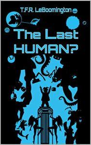 The Last Human? Book cover award winner