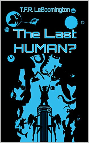The Last Human? Book cover award winner
