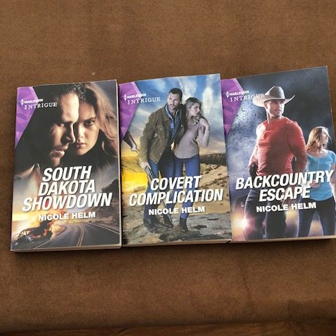 Badlands Cop Series Book Beginnings and first chapters - First three books - by Nicole Helm