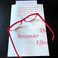 #Discussion Post: The Bystander Effect by @SandersonSpeaks #TheBystanderEffect #Readalong #AltRead @wmcollinsbooks @HarperCollinsUK