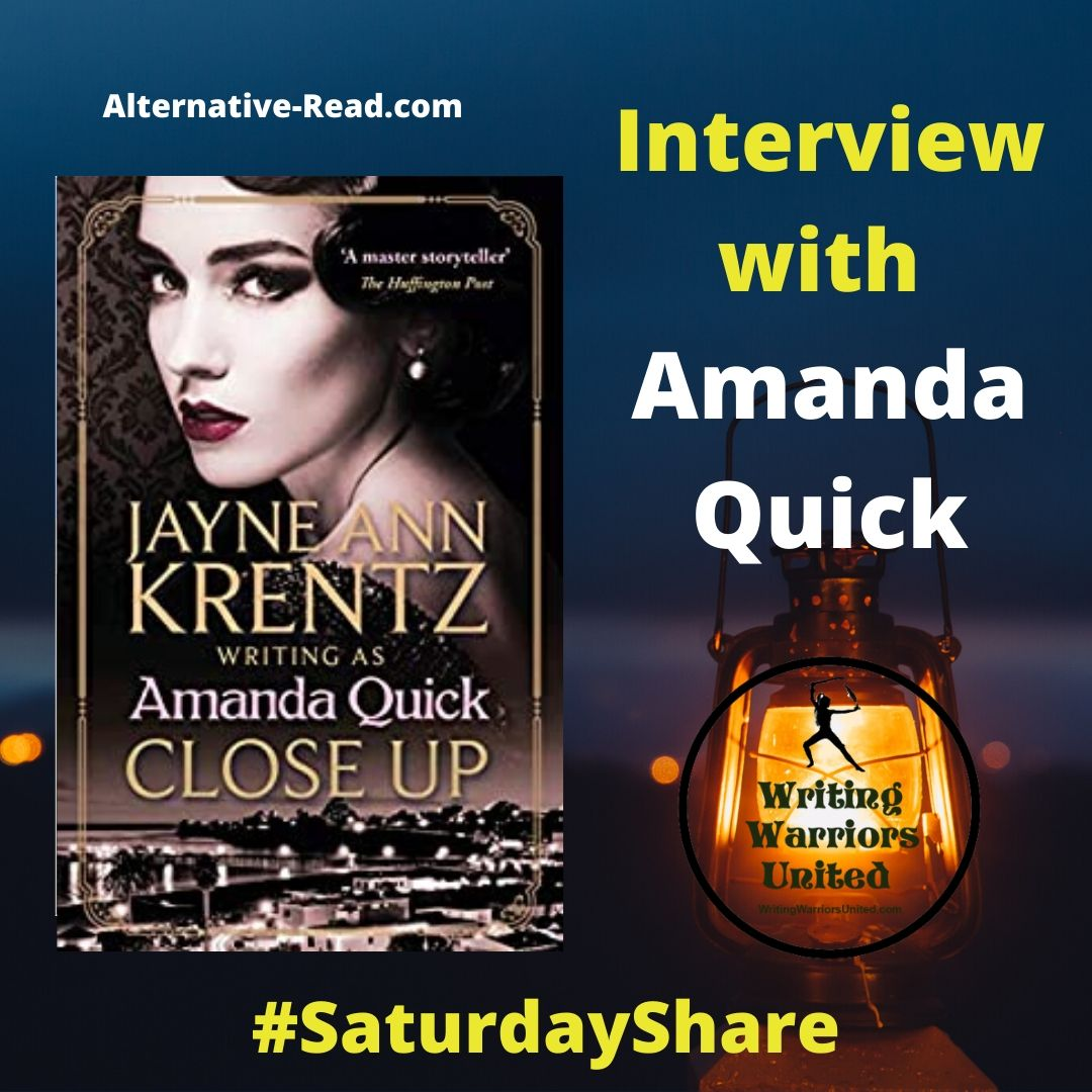 Interview with Jayne Ann Krentz as Amanda Quick #SaturdayShare