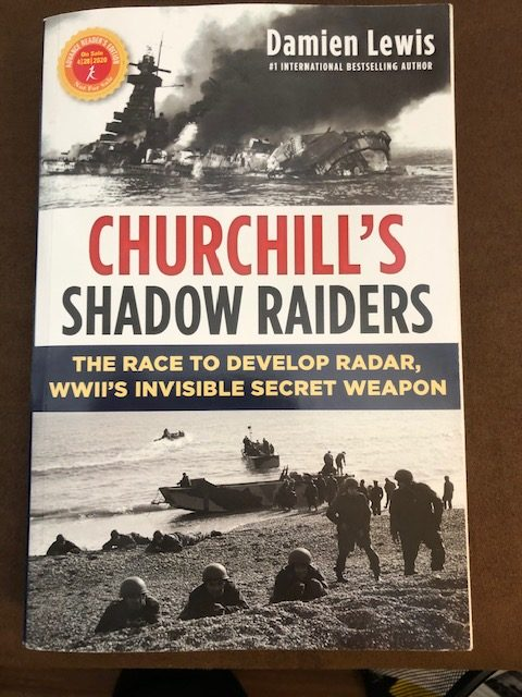 Churchill's Shadow Raiders by Damien Lewis #author #churchill #nonfiction