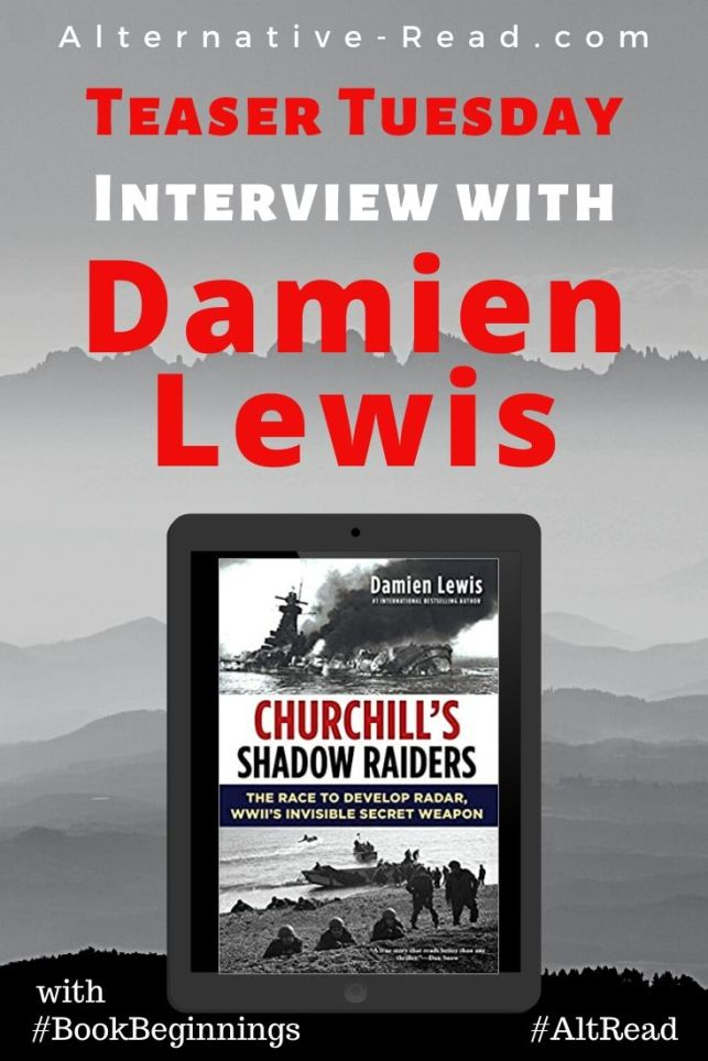 Interview with Damien Lewis Talk Tuesday