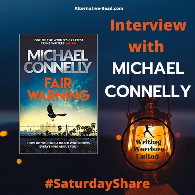 Michael Connelly Interview #SaturdayShare Instagram