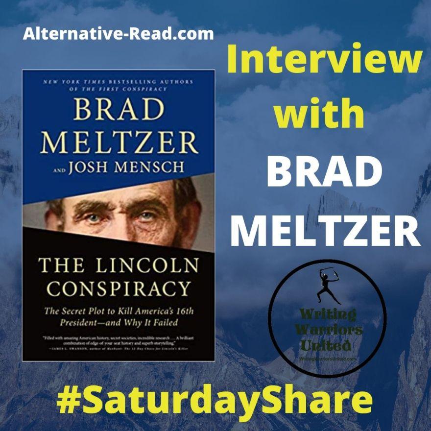 SaturdayShare Interview with Brad Meltzer