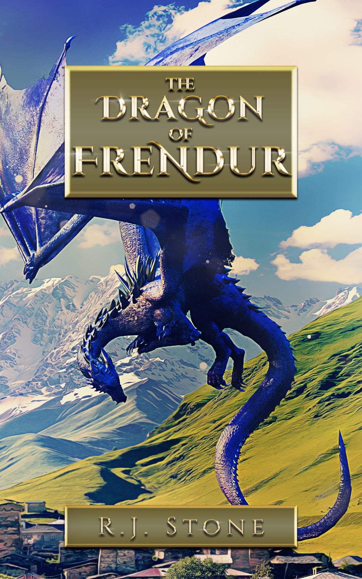 The Dragon of Frendur by R.J. Stone  #dragon #novel #children