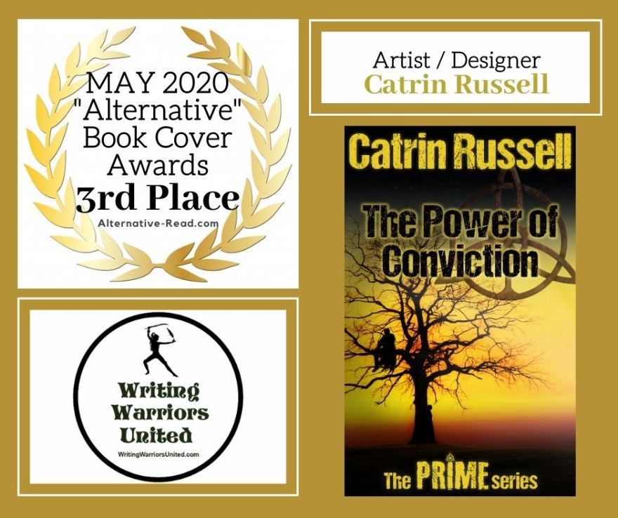 The Power of Conviction - 3rd Place BCA MAY WINNER #AltRead #Bookcover #BookCoverAwards