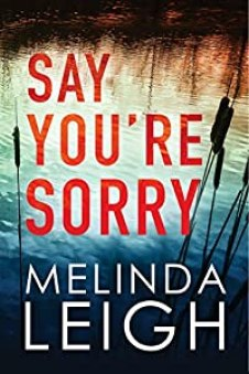 Say You're Sorry by Melinda Leigh (Morgan Dane Book 1) #melindaleigh #bestsellingauthor #novel #thriller #romance