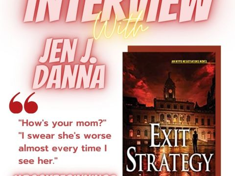 Interview with Jen J Danna- bookbeginnings Instagram Post