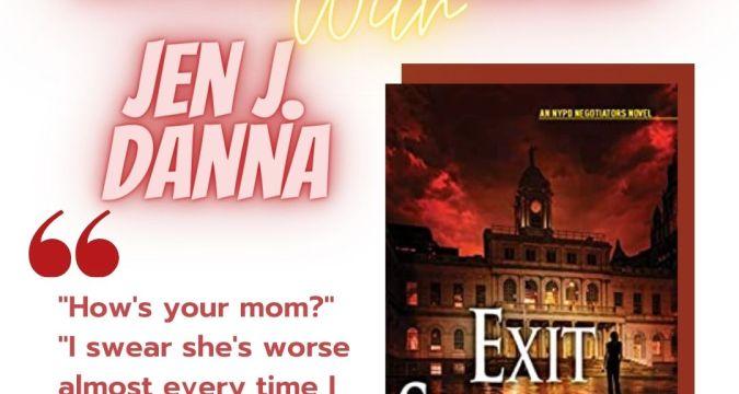 Interview with Jen J Danna- bookbeginnings Instagram Post