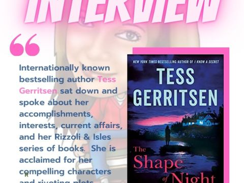 Tess Gerritsen - Interview on ALTREAD - Instagram