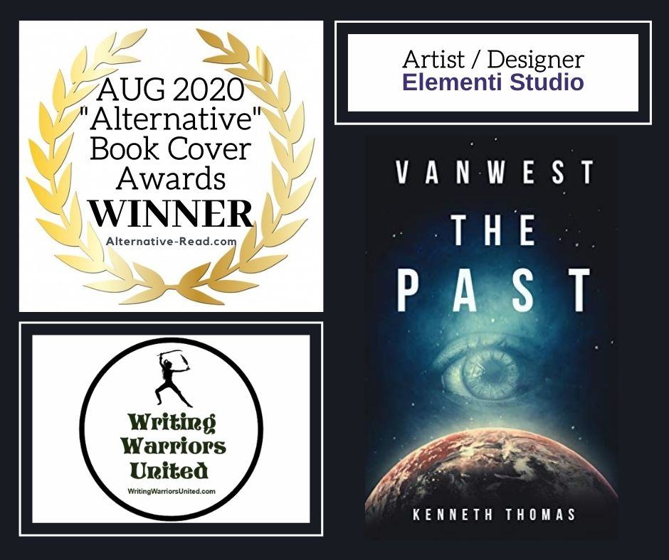VANWEST The Past by Kenneth Thomas - August Alternative Book Cover of the Month Winner