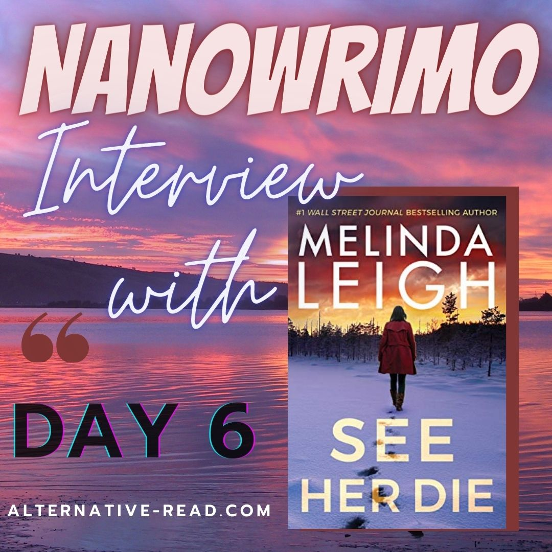 Day 6 Melinda Leigh of Nano Chat - Instagram Post