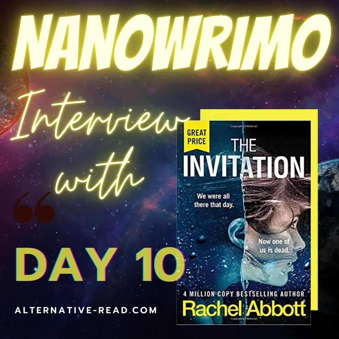 Rachel Abbott - Review and Interview Nano Chat - Instagram Post