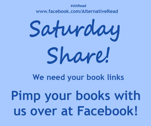 Pimp your books with us over at Facebook!