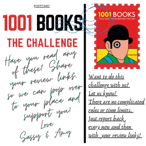 1001 Books You MUST READ Before You Die : The Challenge! #AltRead #bookchallenge #1001books