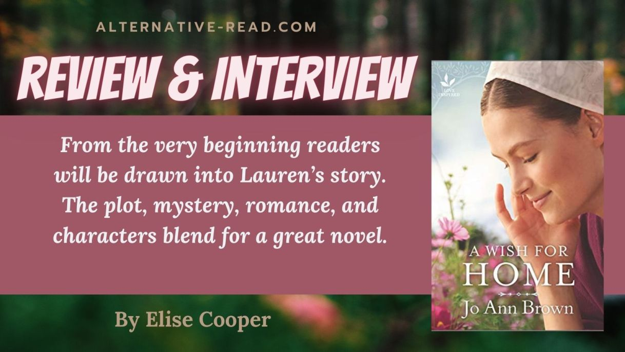A Wish for Home by Jo Ann Brown Review and interview Twitter